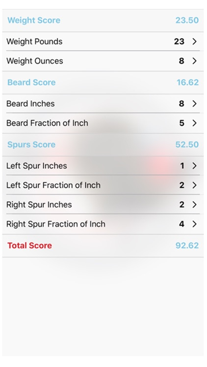Turkey Score Calculator Turkey Hunting App