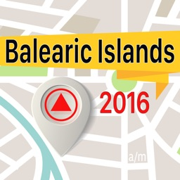 Balearic Islands Offline Map Navigator and Guide