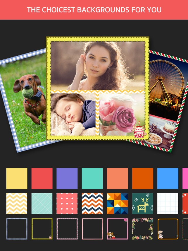 Photo Frame Editor – Pic Collage Maker Free on the App Store
