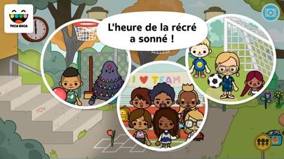 Screenshot for Toca Life: School in Lebanon App Store