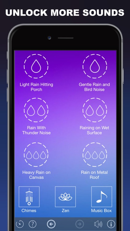 Rain Sleep Sounds : Relax and Sleep Better With Ambient Rain Sounds screenshot-4