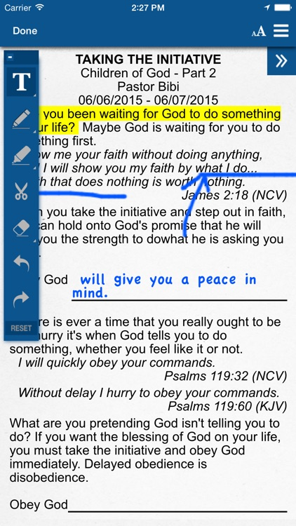 Sermon Note App screenshot-3