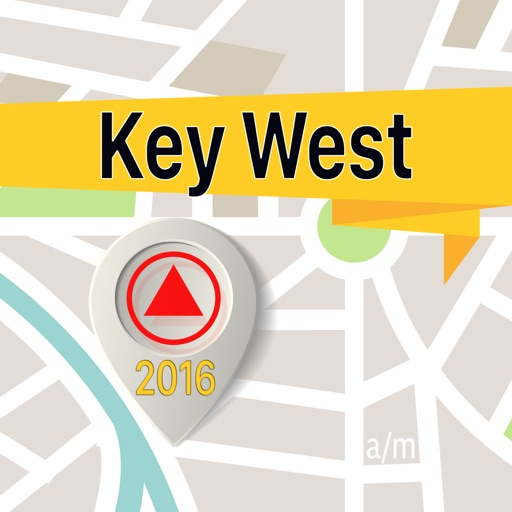 Key West Offline Map Navigator and Guide