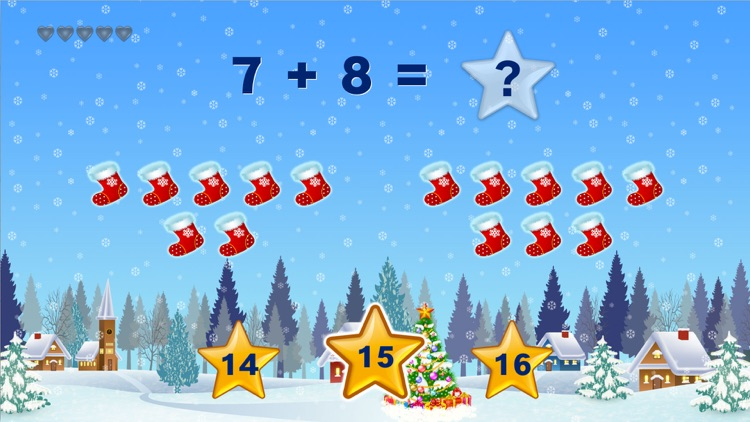 Christmas Kids Math Games