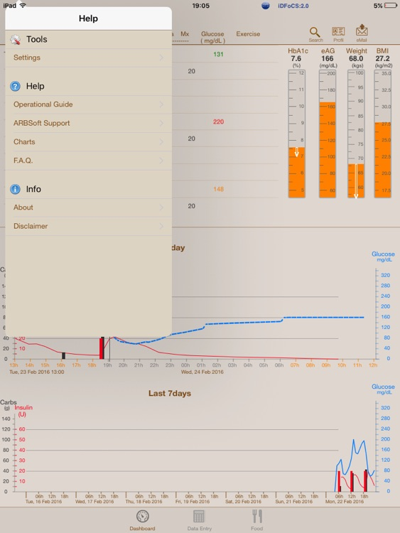 Diabetes myAssistant for iPad screenshot-3
