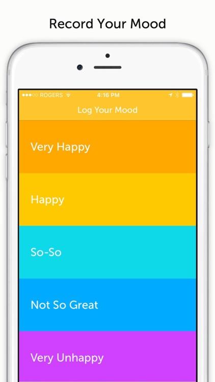 Uplifter - Positive Psychology, Gratitude Journal, Mood Tracker screenshot-3