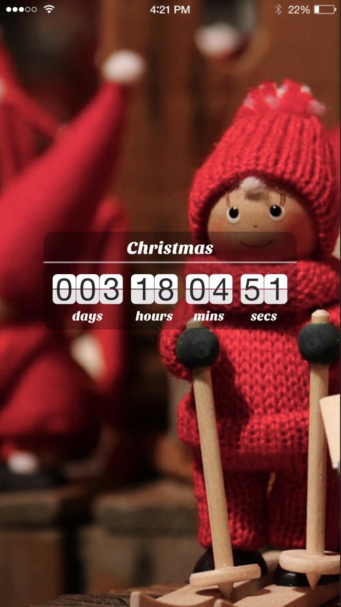 Countdown App Free (Big Day Event Timer Reminder) Screenshot
