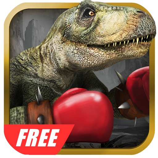 Dinosaurs Free Fighting Game Icon