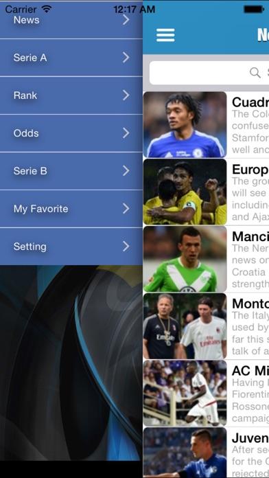 イタリア - セリエ 2015-2016のスクリーンショット1