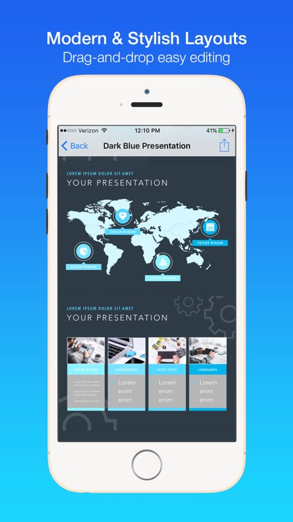 Business Templates for Keynote