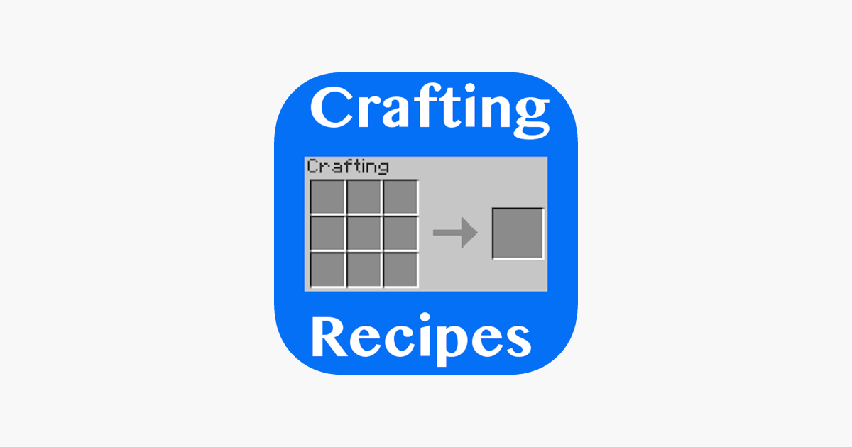 Crafting Recipes  on the App Store