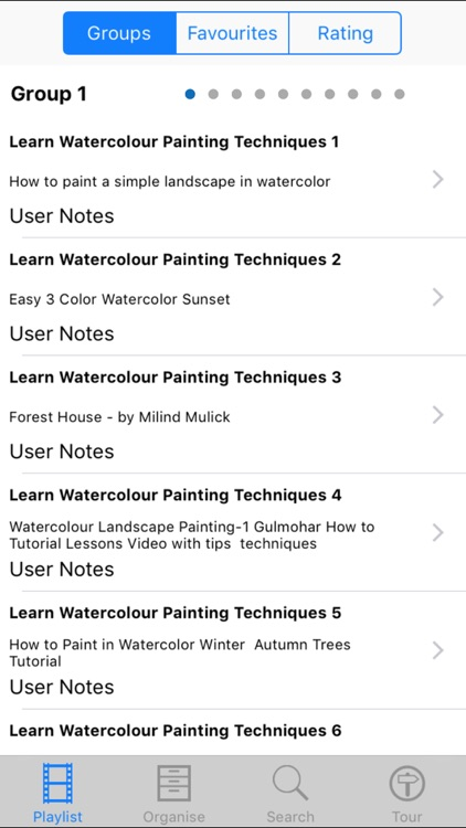 Learn Watercolour Painting Techniques screenshot-1