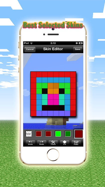 1000000+ Skins Pro Creator for Minecraft Edition screenshot-3