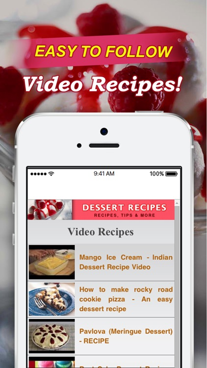 Dessert Recipes!