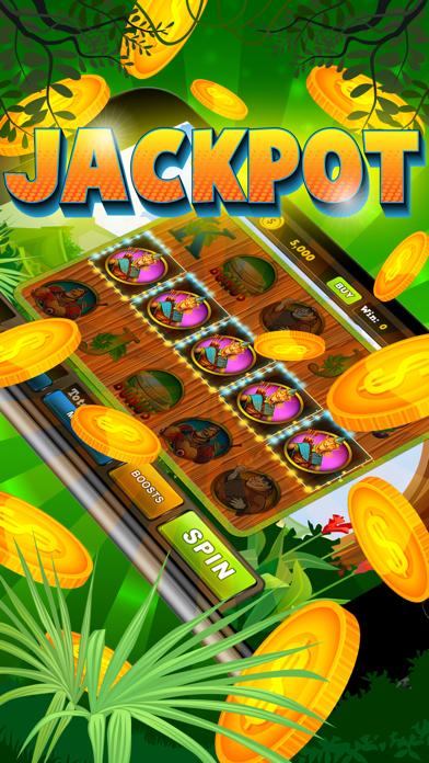 Slots Jungle Treasures - Free Vegas Casino Jackpot Win screenshot one