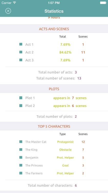 Story Planner - Outline your Novel & Screenplay screenshot-4