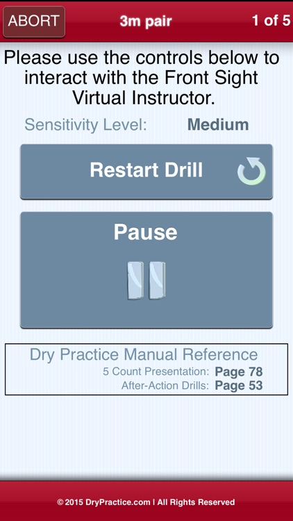 The Official Front Sight Dry Practice App screenshot-3