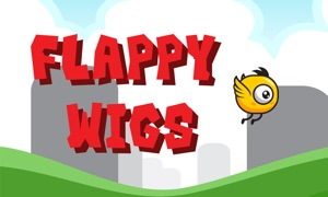 Flappy Wigs - Tap To Play
