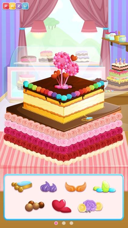 Cake Shop - Making & Cooking Cakes Game for Kids, by Pazu screenshot-3