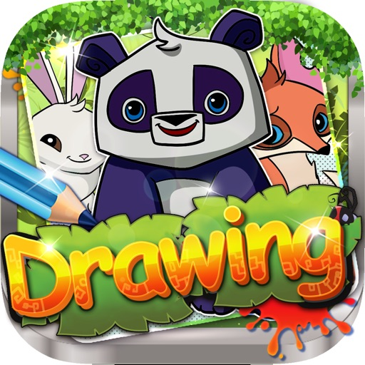 Drawing Desk Animal Jam : Draw and Paint  Coloring Books Edition Free
