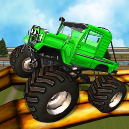 Monster Truck Driving : Extreme Tracks Climb Racing