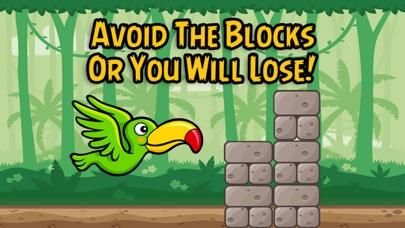 Flying Parrot Jungle Game screenshot three