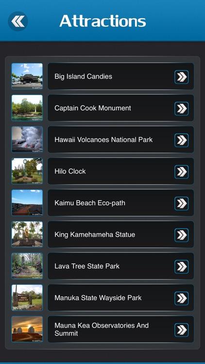 Big Island Travel Guide - Hawaii screenshot-3