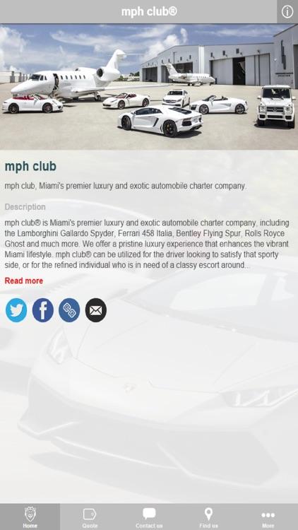 mph club