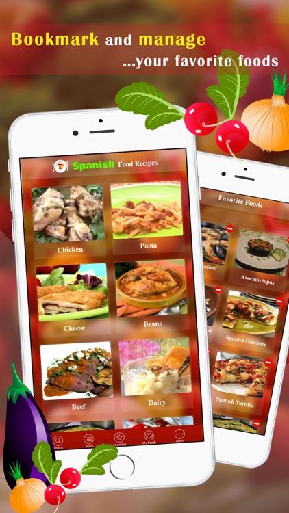Spanish Food Recipes screenshot-3
