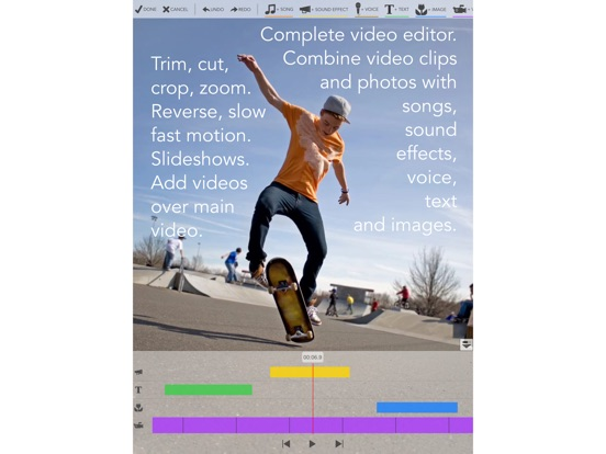Screenshot #1 for Videocraft - Best Video Editor Photo Slideshow