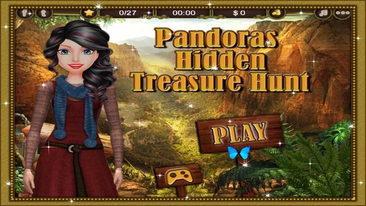 Pandora's Hidden Treasure Hunt
