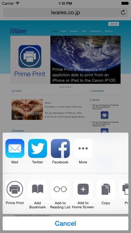 Prime Print screenshot-4