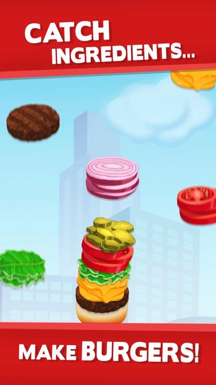 Sky Burger - Build & Match Food Free