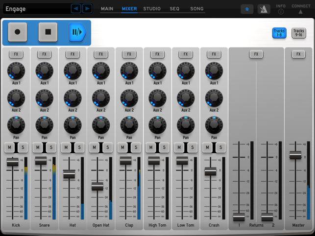 ‎Arturia iSpark Screenshot