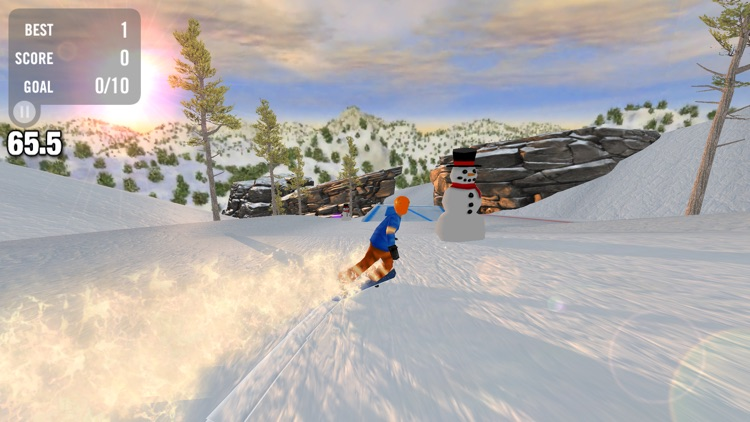 Crazy Snowboard Pro screenshot-3