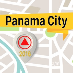 Panama City Offline Map Navigator and Guide