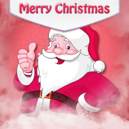Christmas Greeting Cards Maker - Mail Thank You & Send Wishes with Greeting Frames plus Stickers