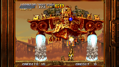 Screenshot from METAL SLUG X