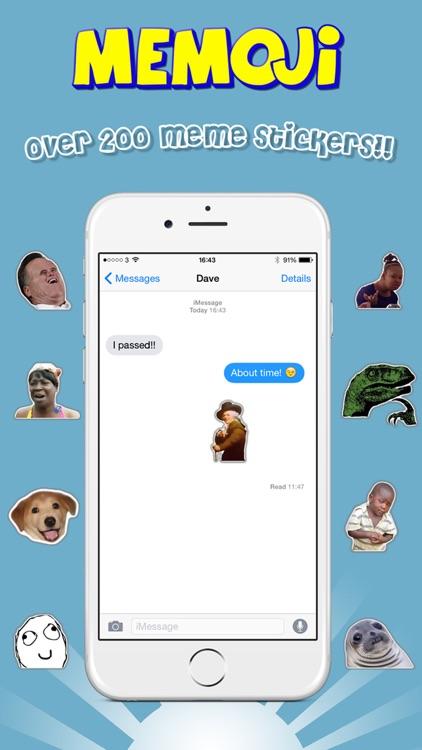 Memoji - Emoji Meme Sticker Keyboard