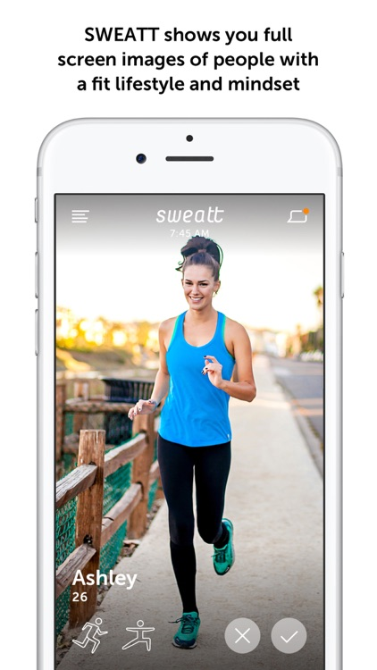 Sweatt - A dating app for the fitness community