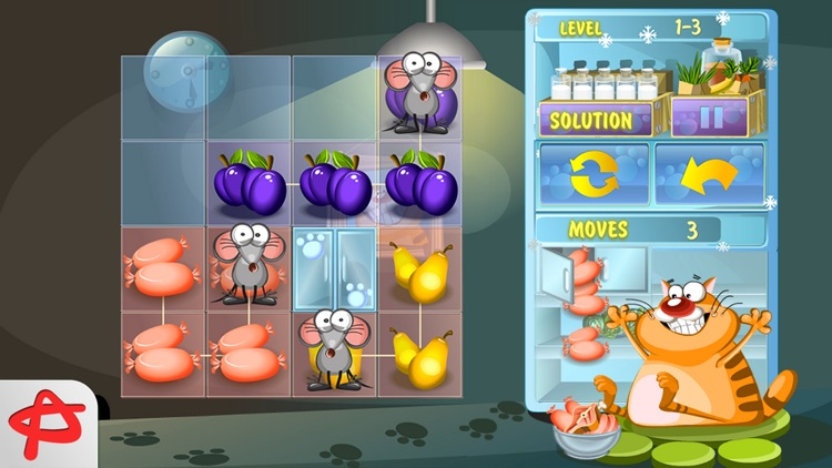 Steal the Meal: Unblock Puzzle screenshot-4