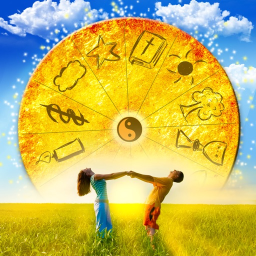 Wisdom Wheel of Life Guidance - Ask the Fortune Telling Cards for Clarity icon