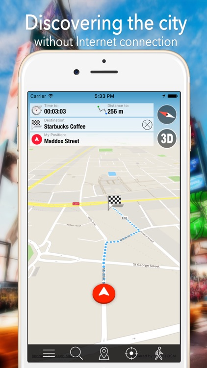 Iphone Map Of New York Offline.New York City Offline Map Navigator And Guide By App Makers Srl In