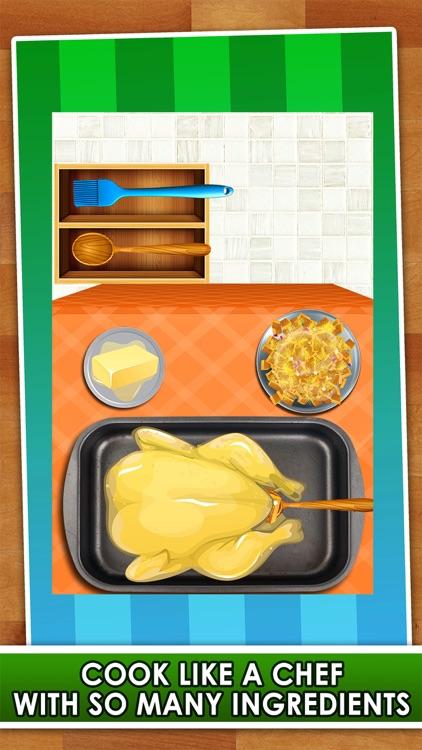 Dinner Feast Maker Salon - Food Making & Cooking Little Kid Games (Girls & Boys)!