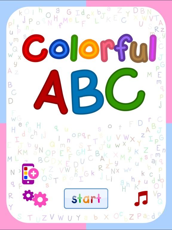 Colorful ABC (Nursery English Alphabets Flashcards for Kids | Montessori Education)-ipad-0