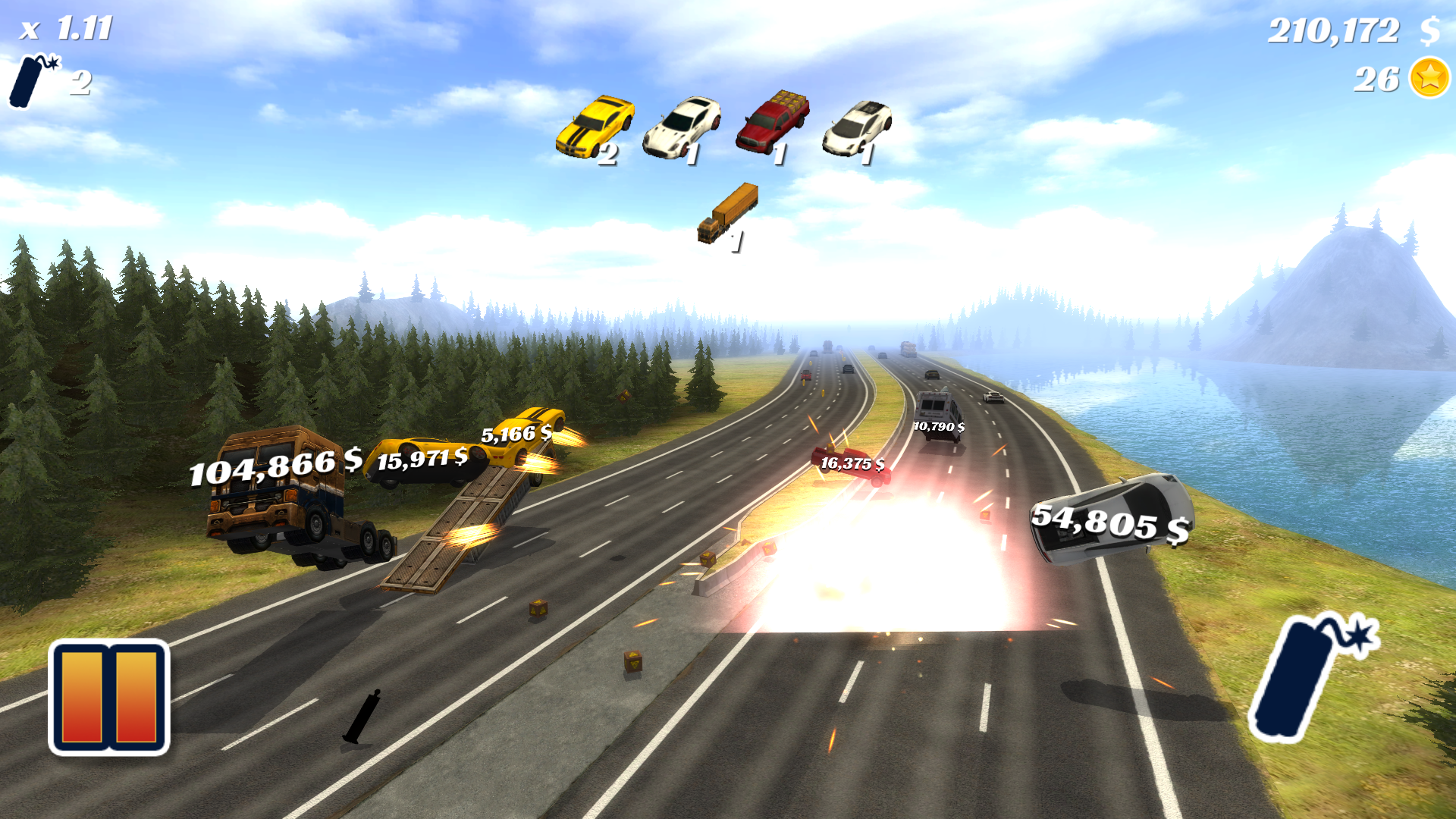 Highway Crash Derby screenshot 15
