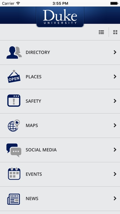 DukeMobile screenshot-1