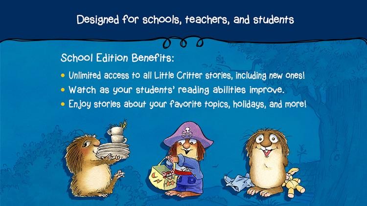 Little Critter Library - School Edition screenshot-3