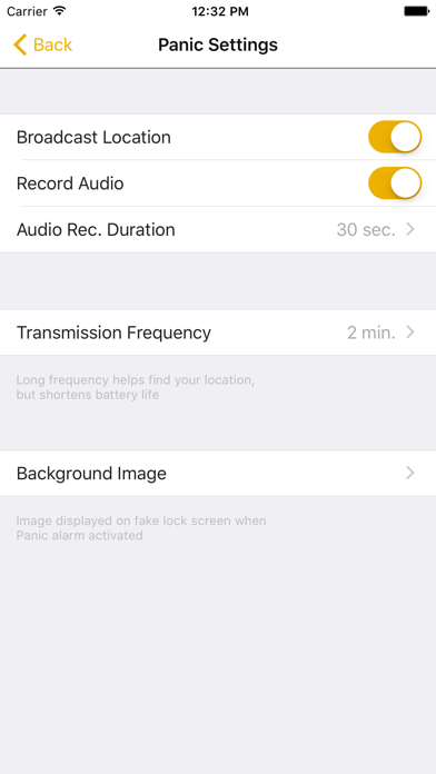 Panic Button (Emergency Locator) screenshot three