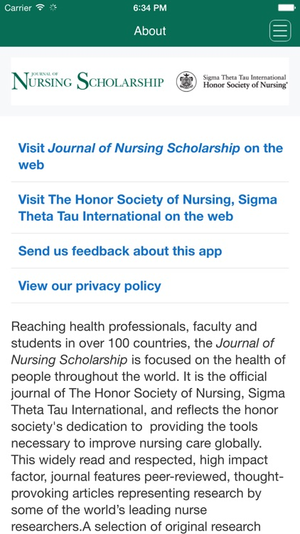 Journal of Nursing Scholarship App